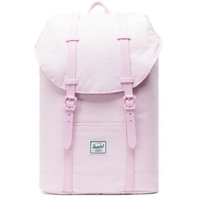 Herschel Retreat Mid-Volume Backpack pink lady crosshatch